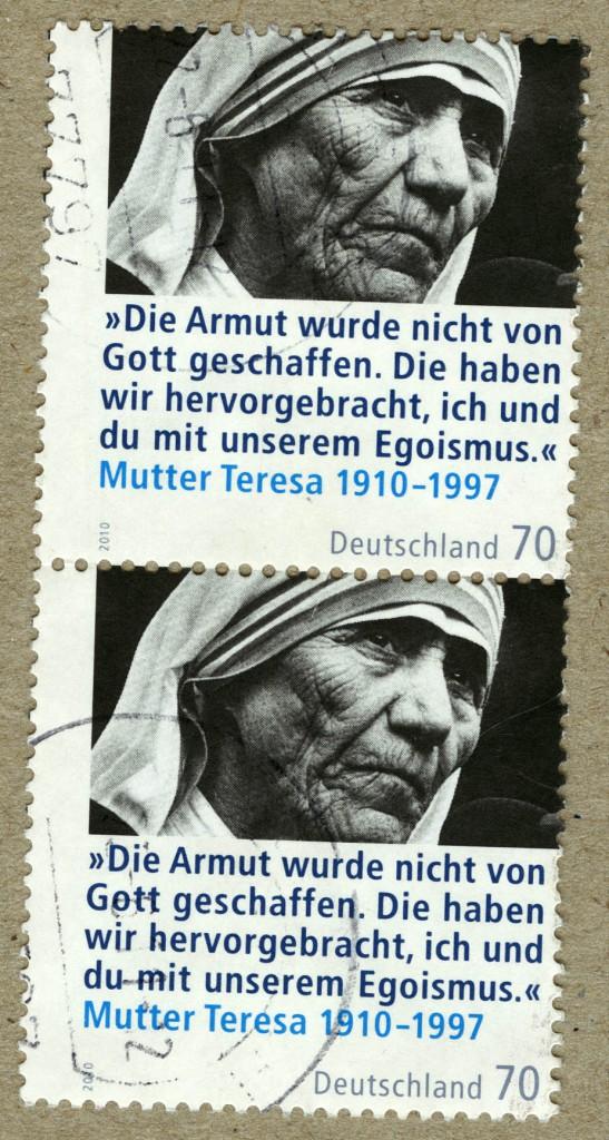 Briefmarke Mutter Teresa