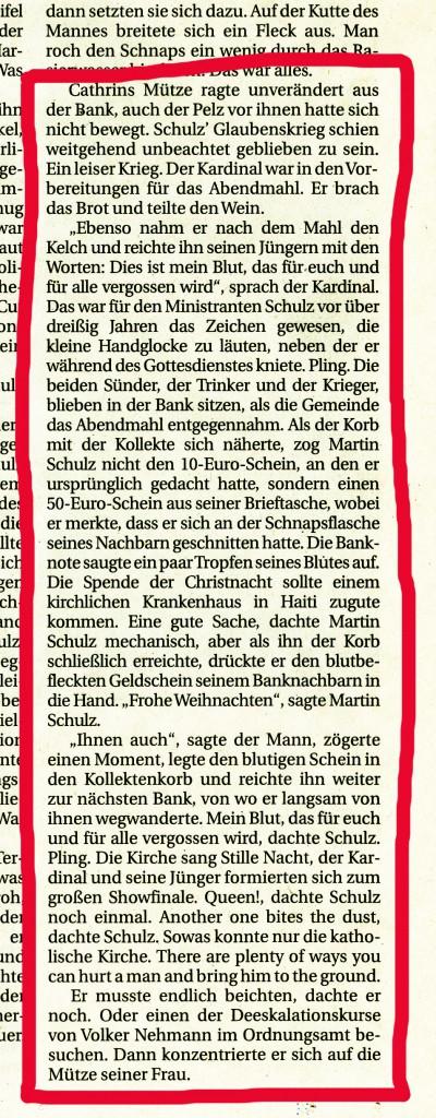 Berliner Zeitung 24./25.12.2010