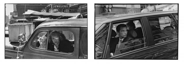 Foto links: Henri Cartier-Bresson, Foto rechts: Jabs