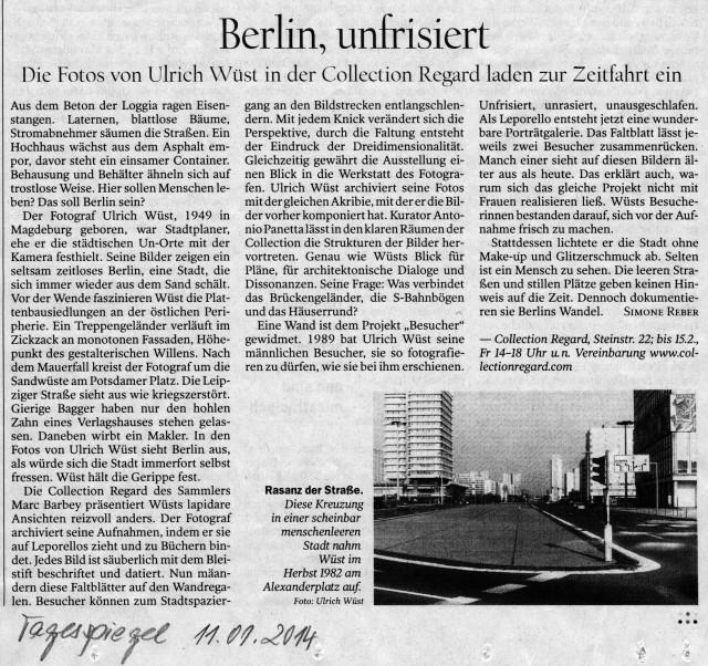 Tagesspiegel, 11.01.2014