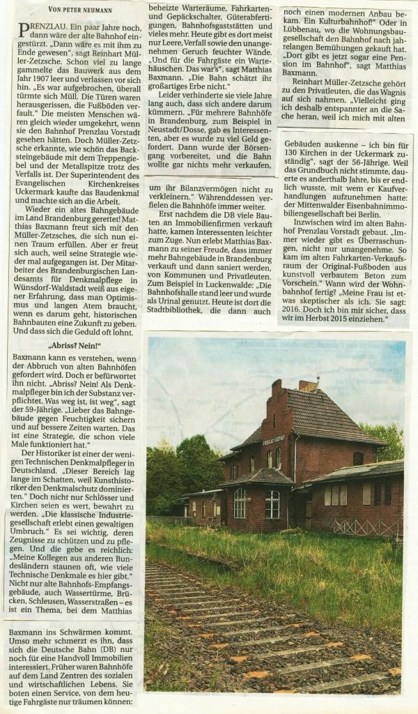 Berliner Zeitung 30.06.2014