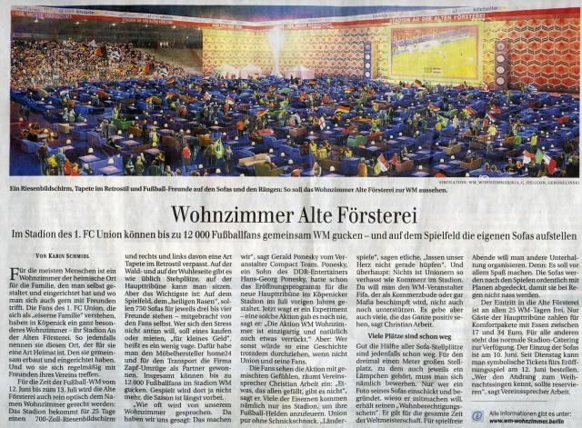 Berliner Zeitung 21.05.2014