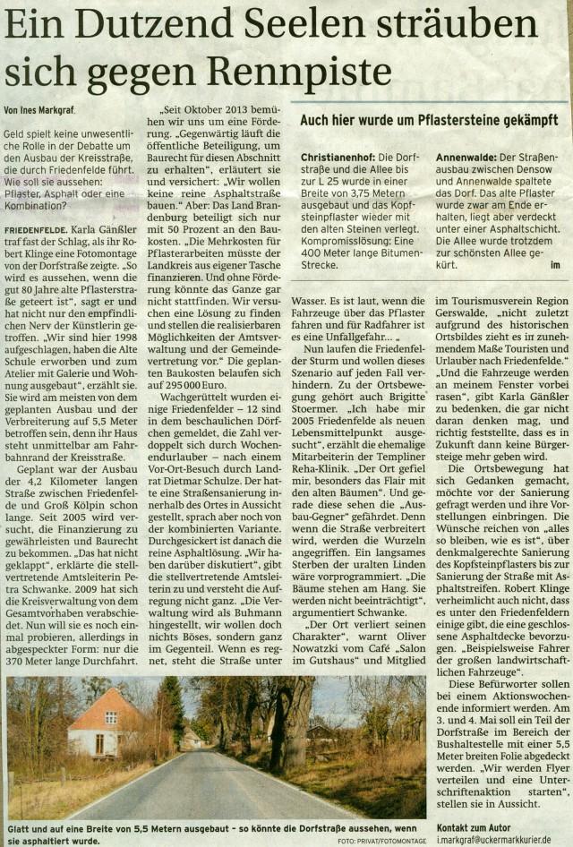 1_Prenzlauer Zeitung 31.03.2014