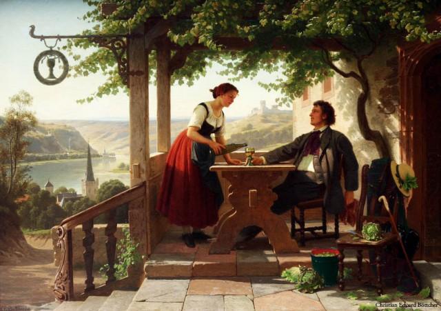 Gemälde: Christian Eduard Böttcher