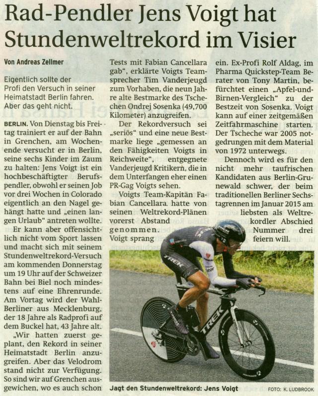 Prenzlauer Zeitung 12.09.2014