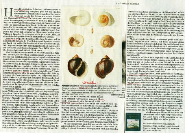 Berliner Zeitung 29./30.11.2014