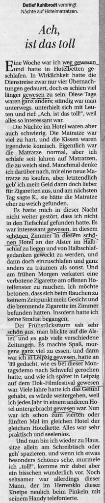Berliner Zeitung 07.11.2014