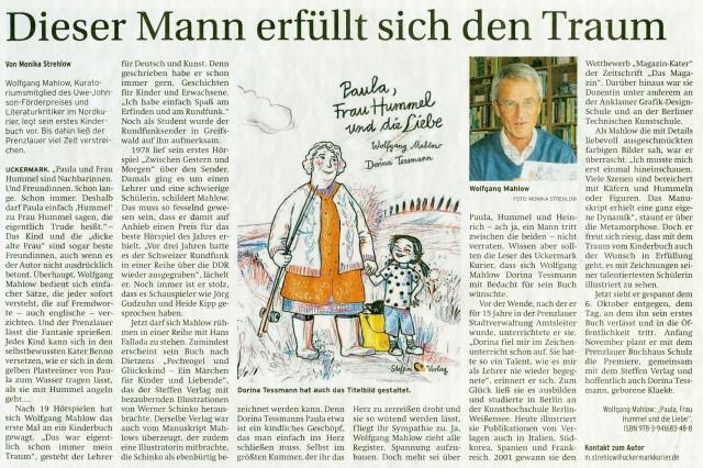 Prenzlauer Zeitung 29.09.2014