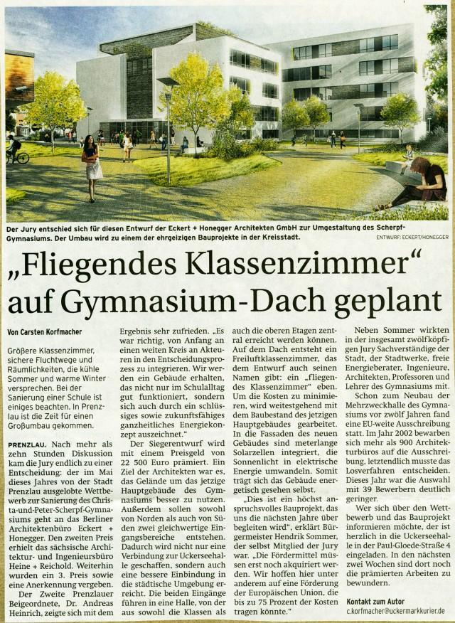 Prenzlauer Zeitung 10.11.2014