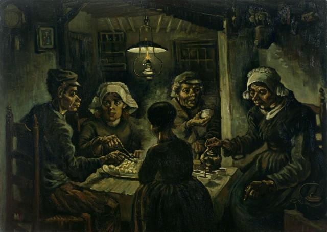 """Vincent van Gogh: """"Die Kartoffelesser"""""""