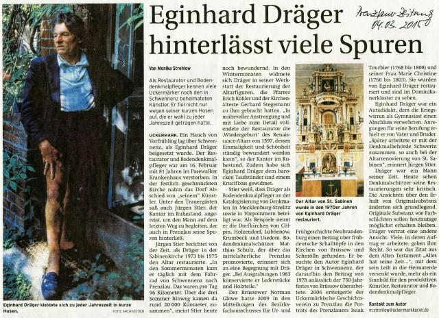 Prenzlauer Zeitung 04.03.2015