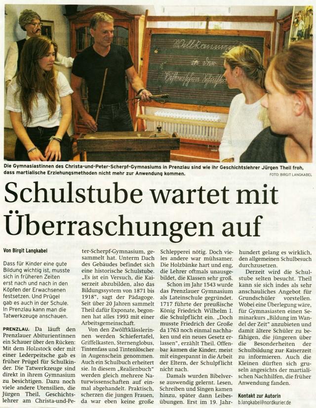 Uckermark Kurier 29.06.2015