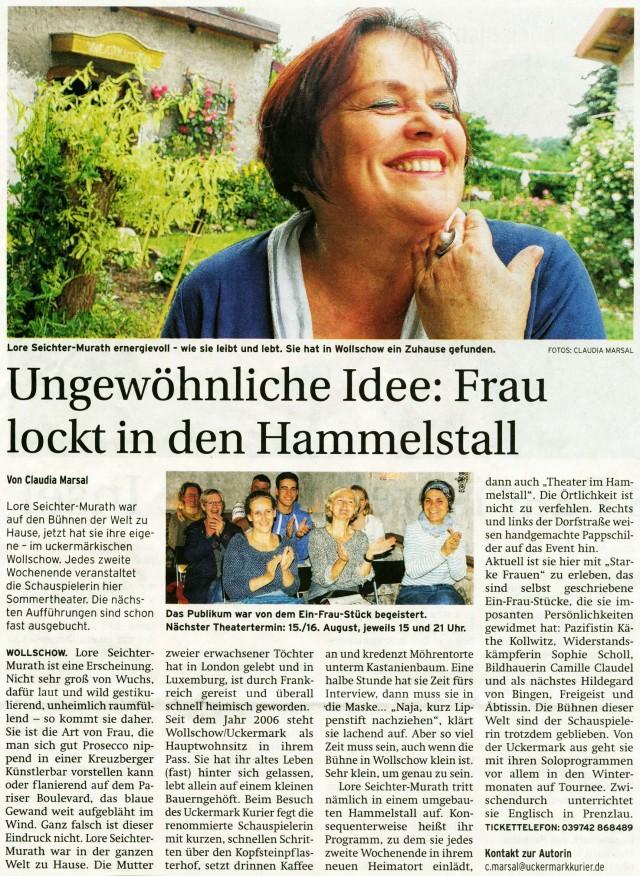 Prenzlauer Zeitung 29.06.2015