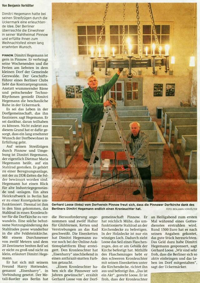 Prenzlauer Zeitung 22.12.2015