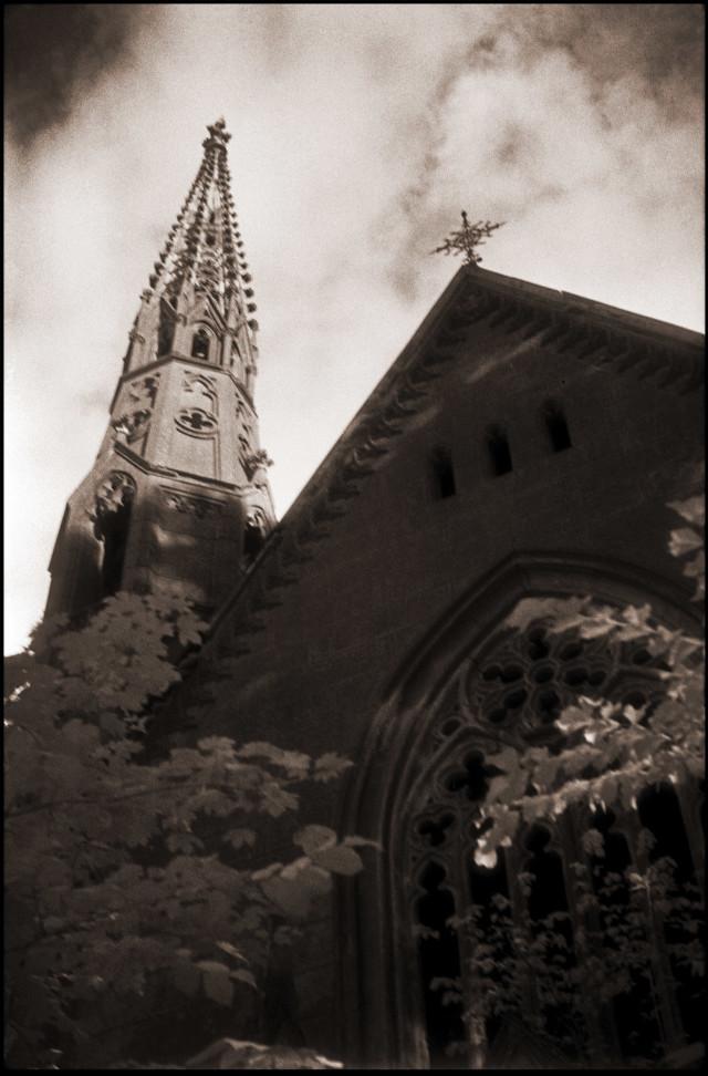 Kirche Kröchlendorf 1987 (Foto: Jabs)