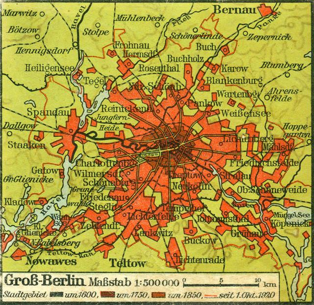 Groß-Berlin 1920
