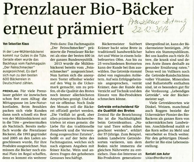 Biobäckerei-Prenzlau