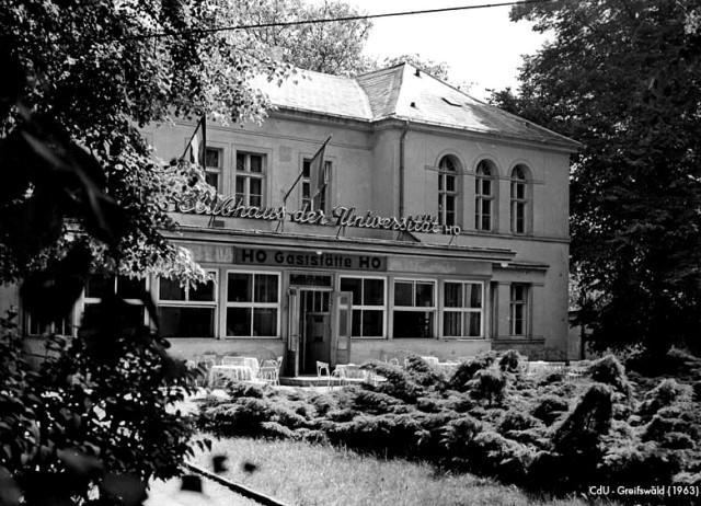 Zentralbild 11.7.1963 Greifswald Klubhaus der Universit‰t Greifswald