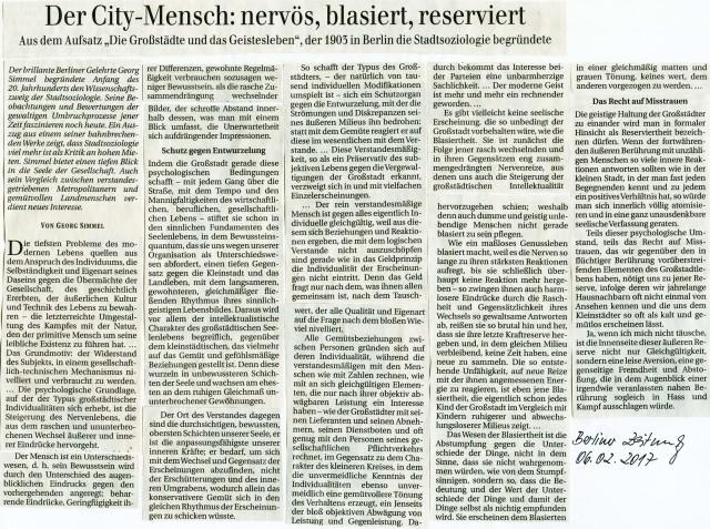 City-Mensch