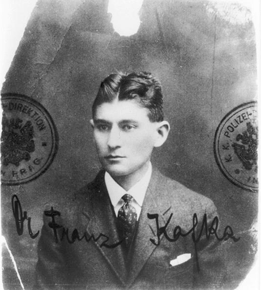 01_Passfoto.jpg, Passfoto, Kafka etwa 32 Jahre alt, 1915/16 © A