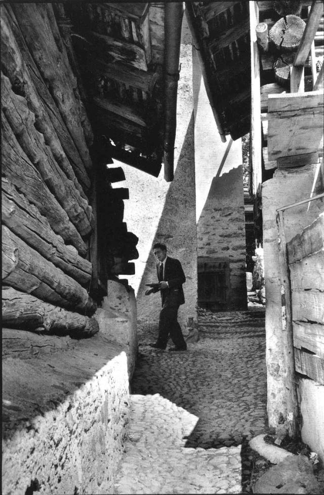 (grandiose) Fotos Alberto Giacometti von Henri Cartier-Bresson!