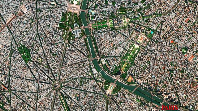 Luftaufnahme-Paris