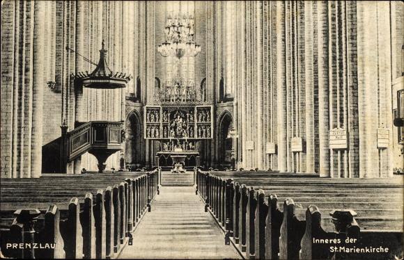 Prenzlau-Inneres-der-St-Marienkirche