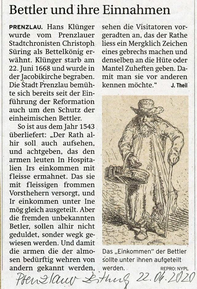 102-Bettler in Prenzlau