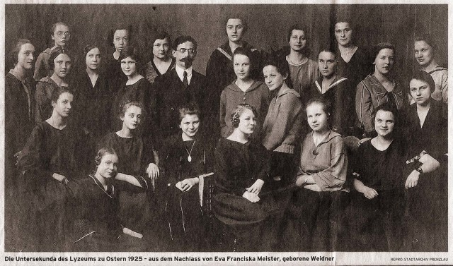 Lyzeum-Prenzlau-Untersekunda-1925